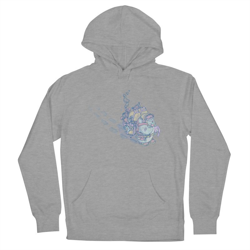 in my way Men's French Terry Pullover Hoody by makapa's Artist Shop