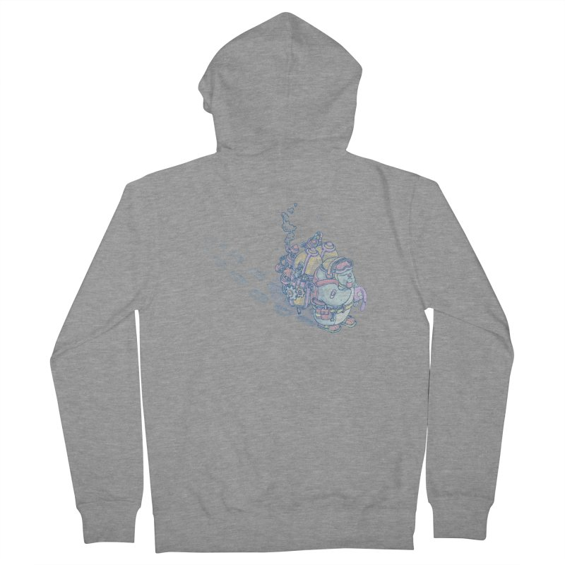 in my way Women's French Terry Zip-Up Hoody by makapa's Artist Shop
