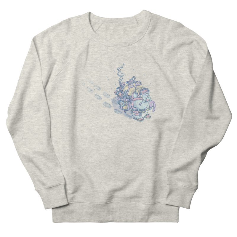 in my way Women's French Terry Sweatshirt by makapa's Artist Shop