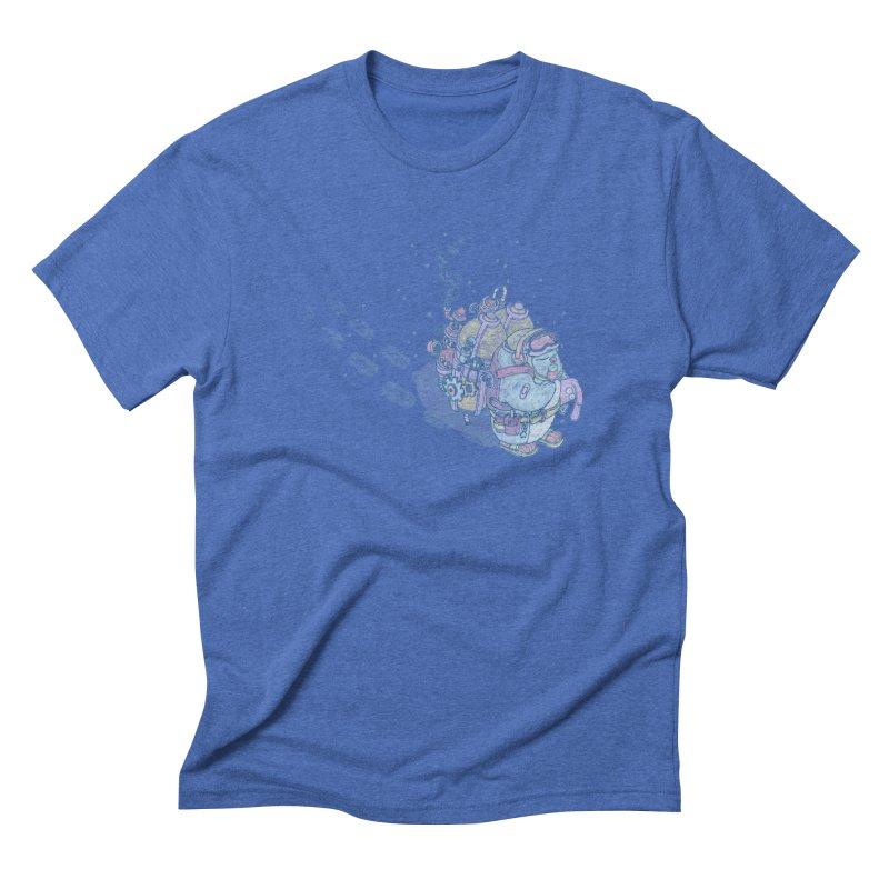 in my way Men's Triblend T-Shirt by makapa's Artist Shop