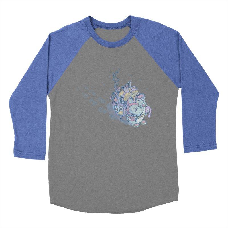 in my way Men's Baseball Triblend Longsleeve T-Shirt by makapa's Artist Shop