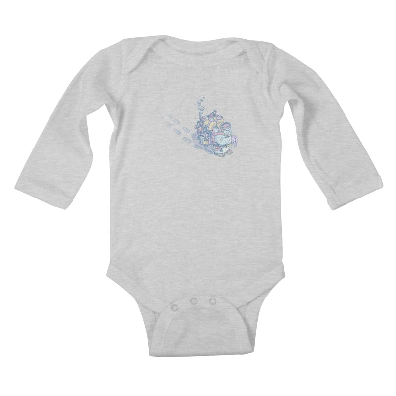 in my way Kids Baby Longsleeve Bodysuit by makapa's Artist Shop