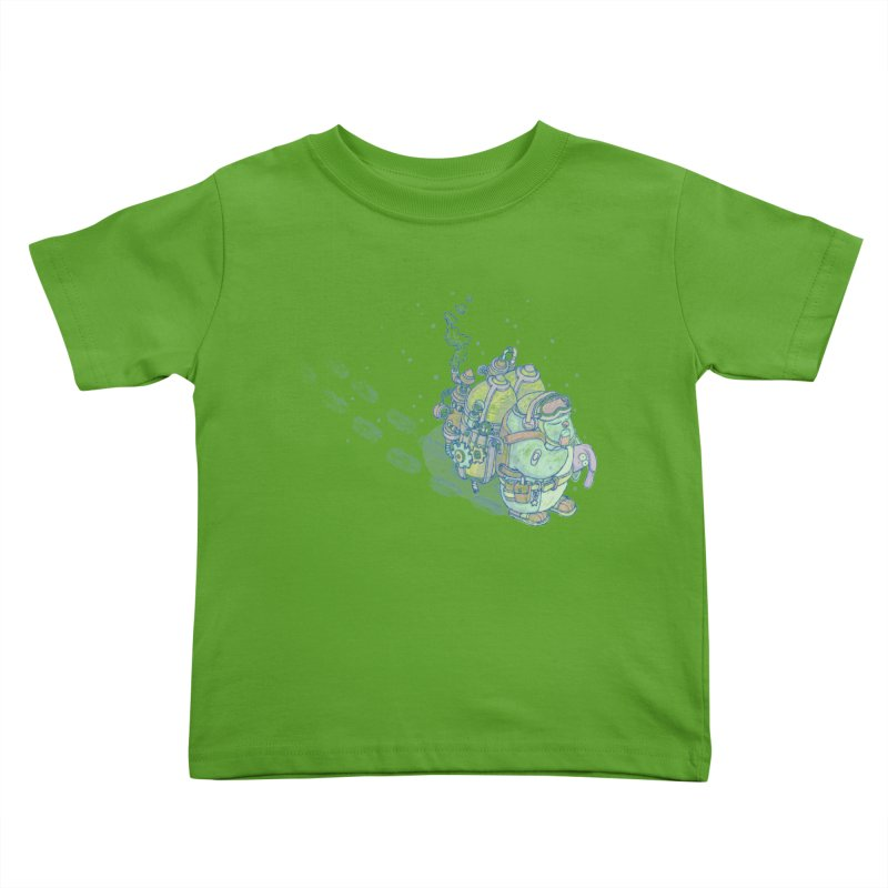 in my way Kids Toddler T-Shirt by makapa's Artist Shop