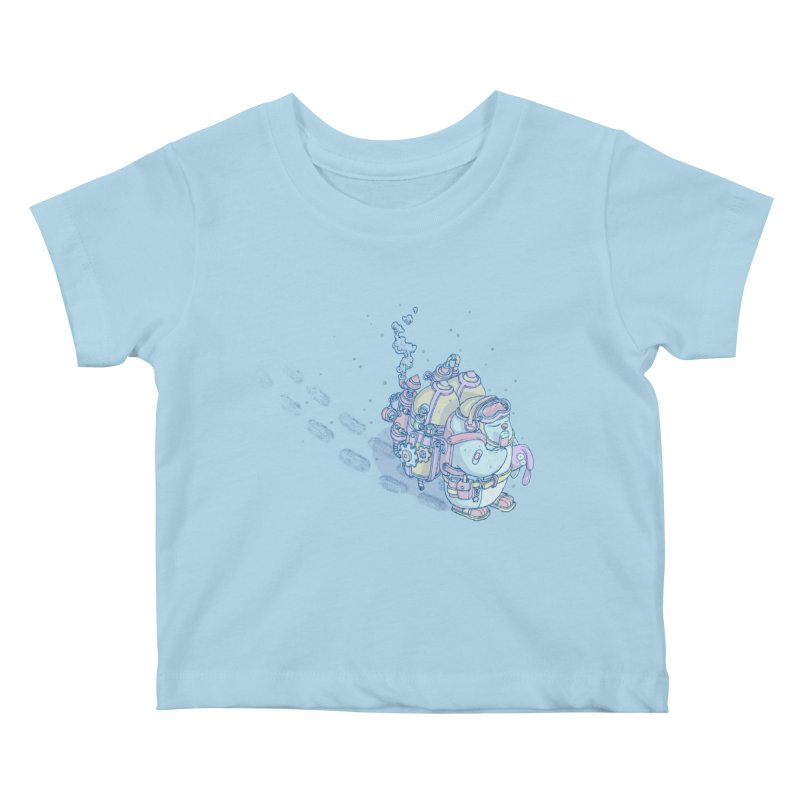 in my way Kids Baby T-Shirt by makapa's Artist Shop