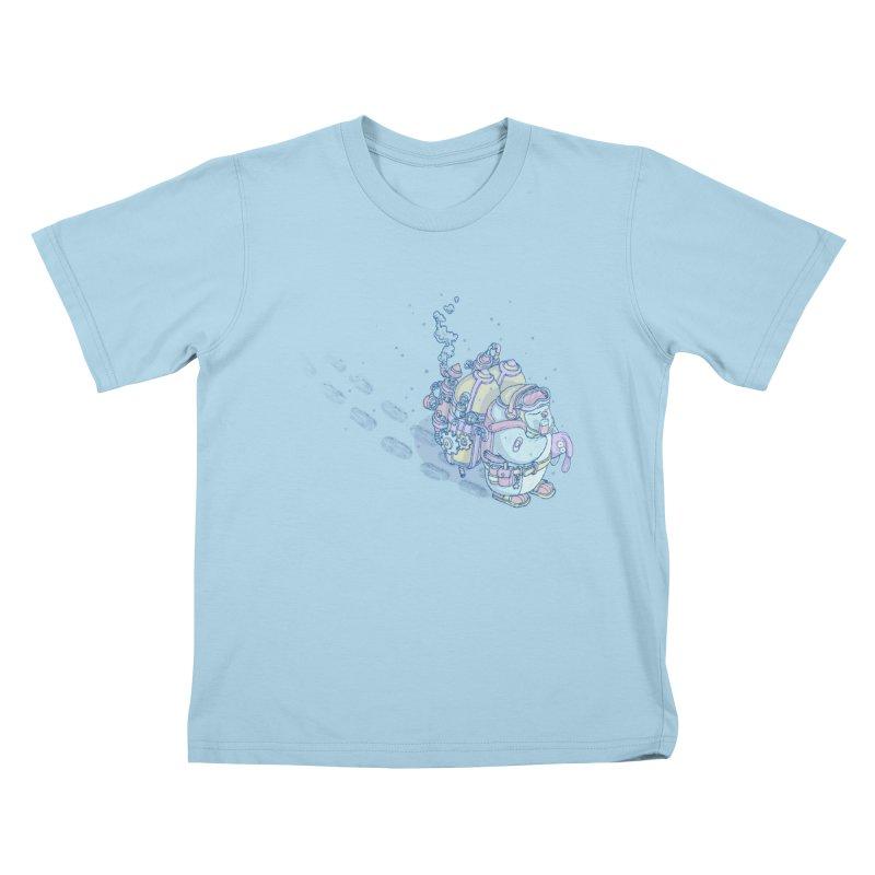 in my way Kids T-Shirt by makapa's Artist Shop