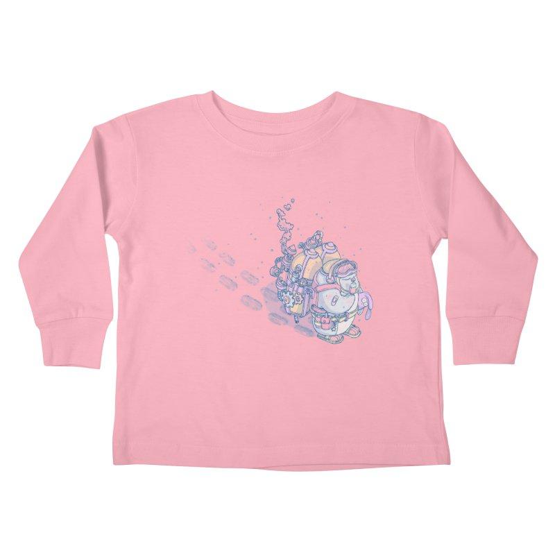 in my way Kids Toddler Longsleeve T-Shirt by makapa's Artist Shop