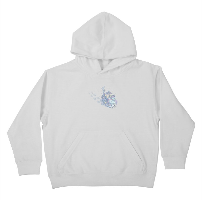 in my way Kids Pullover Hoody by makapa's Artist Shop