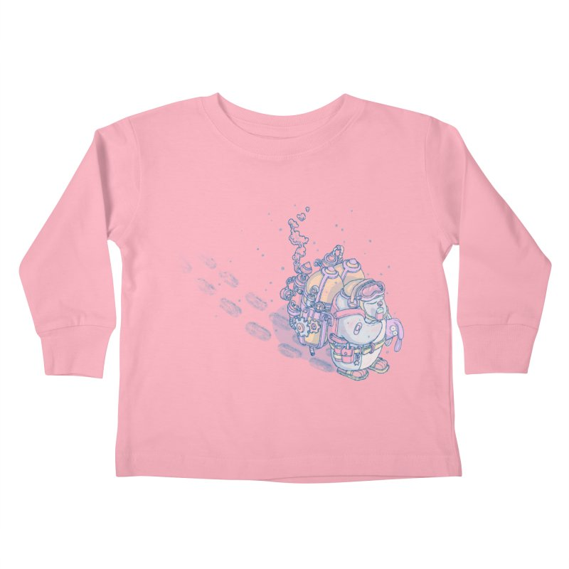 in my way Kids Toddler Longsleeve T-Shirt by makapa's Artist Shop