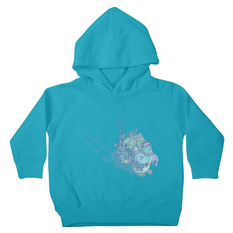 in my way Kids Toddler Pullover Hoody by makapa's Artist Shop