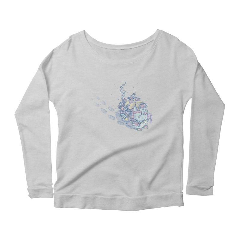 in my way Women's Longsleeve T-Shirt by makapa's Artist Shop