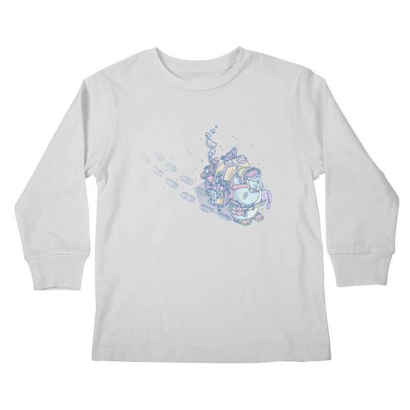 in my way Kids Longsleeve T-Shirt by makapa's Artist Shop