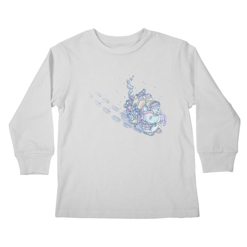 in my way Kids Longsleeve T-Shirt by makapa's Artist Shop