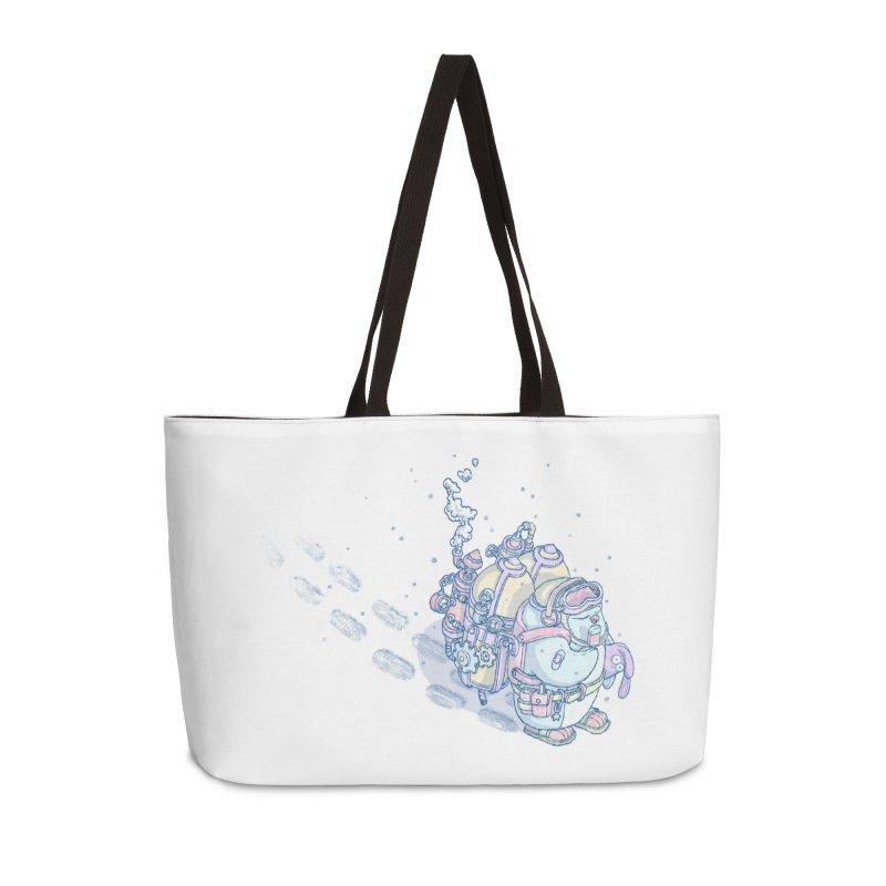 in my way Accessories Weekender Bag Bag by makapa's Artist Shop