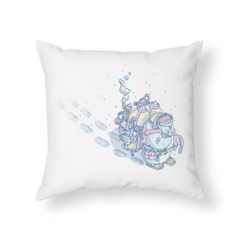 in my way Home Throw Pillow by makapa's Artist Shop