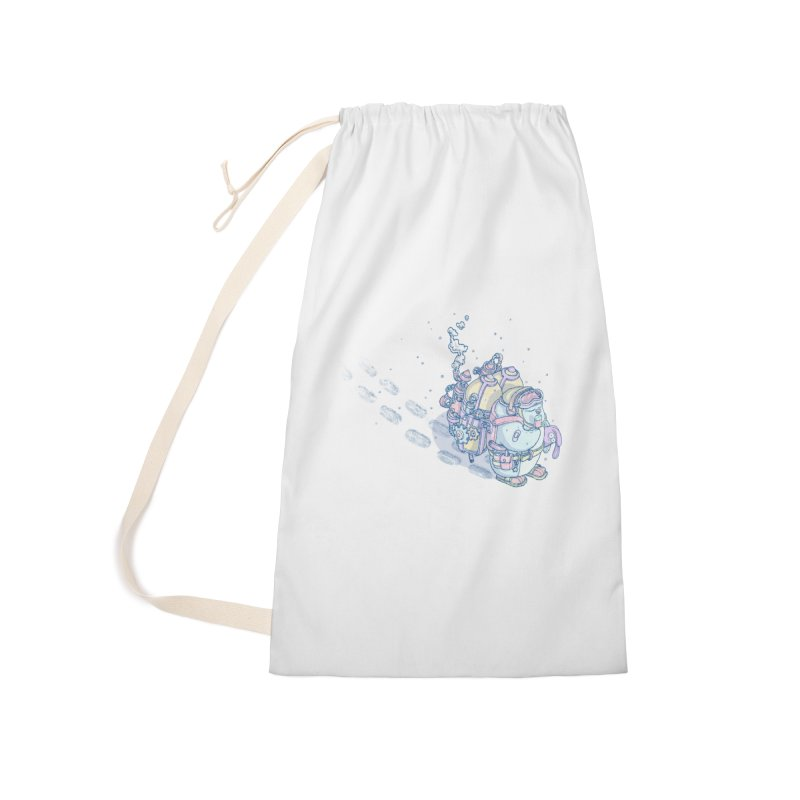 in my way Accessories Laundry Bag Bag by makapa's Artist Shop