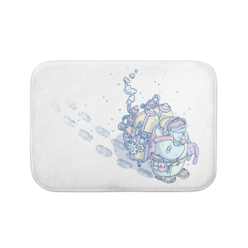 in my way Home Bath Mat by makapa's Artist Shop