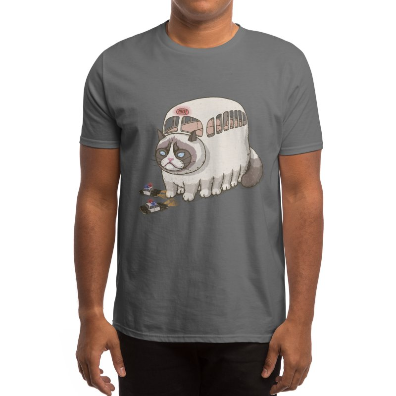 grumpy bus Men's T-Shirt by makapa's Artist Shop
