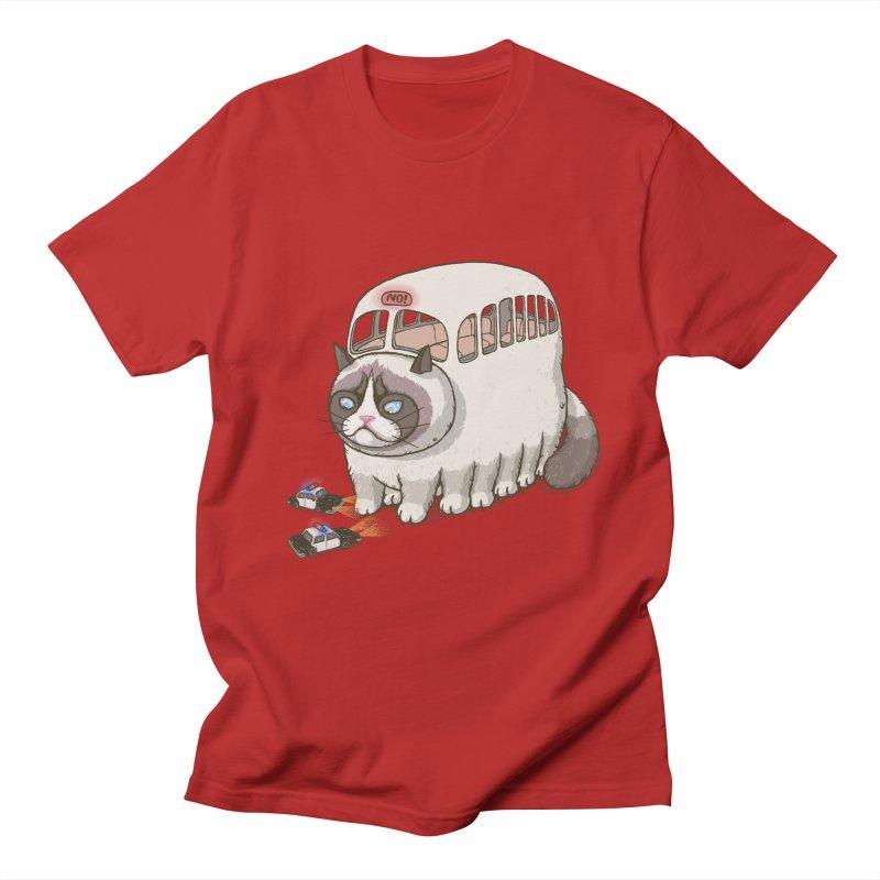 grumpy bus Women's Unisex T-Shirt by makapa's Artist Shop