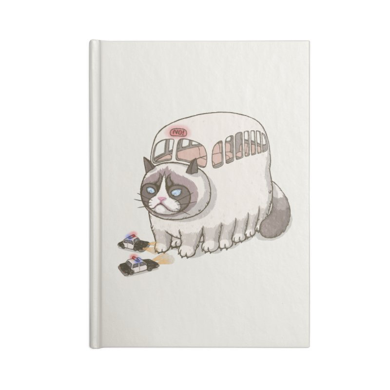 grumpy bus Accessories Notebook by makapa's Artist Shop