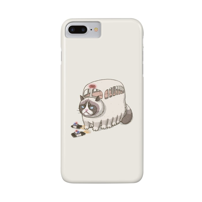 grumpy bus Accessories Phone Case by makapa's Artist Shop