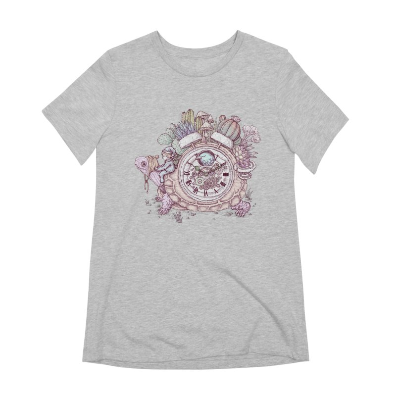 slow alarm clock Women's Extra Soft T-Shirt by makapa's Artist Shop