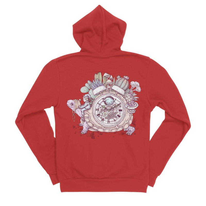 slow alarm clock Women's Zip-Up Hoody by makapa's Artist Shop