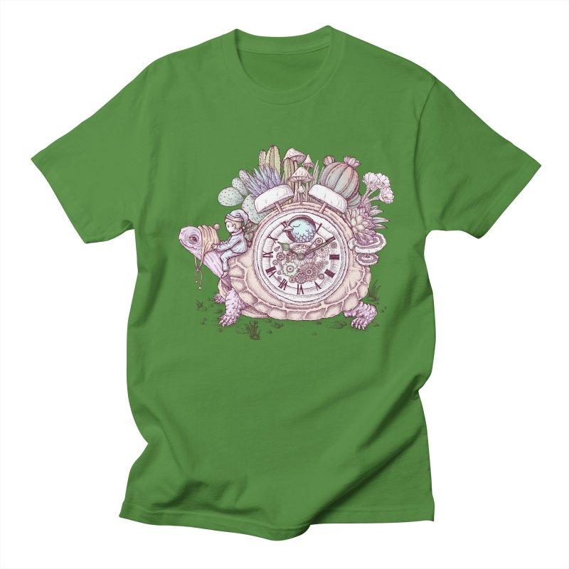 slow alarm clock Men's T-Shirt by makapa's Artist Shop