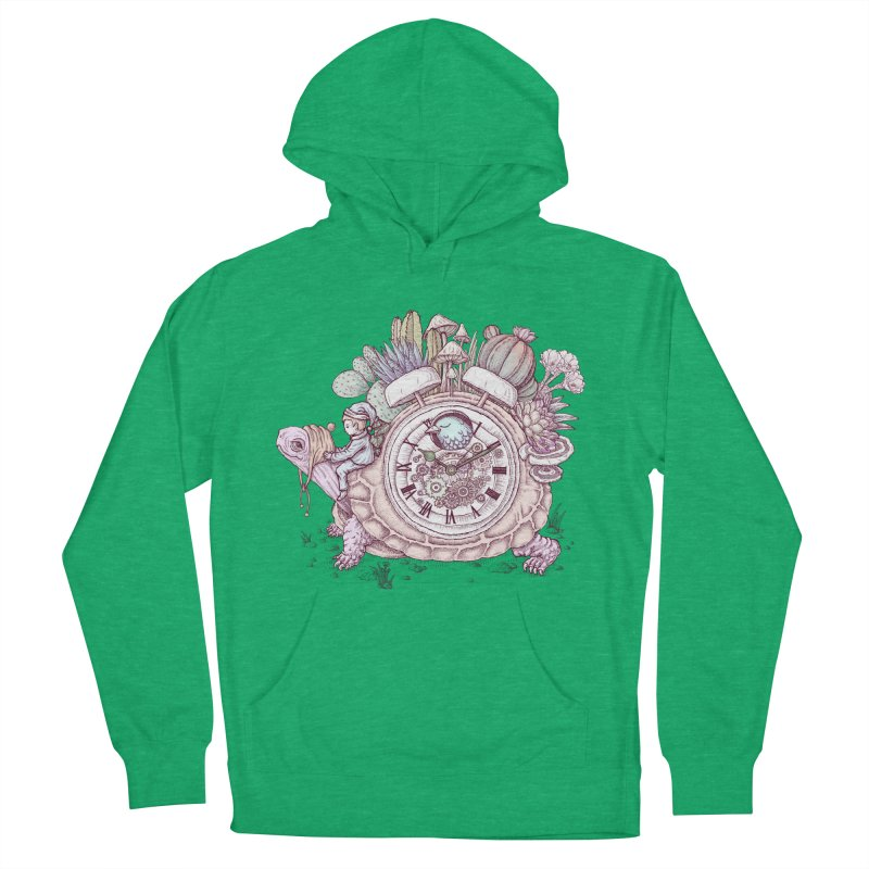 slow alarm clock Women's French Terry Pullover Hoody by makapa's Artist Shop
