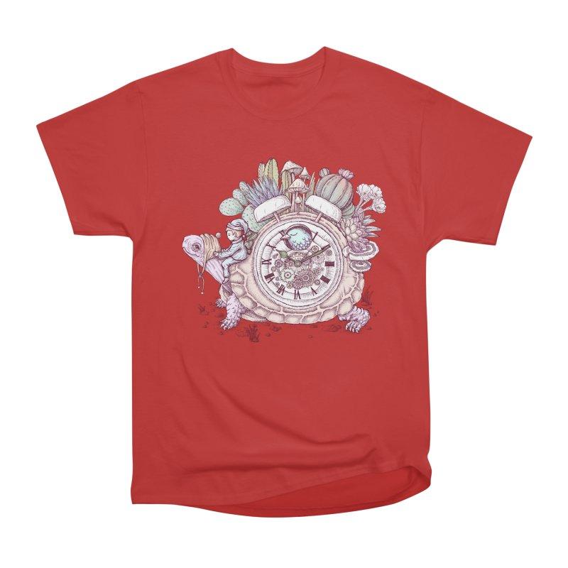 slow alarm clock Women's Heavyweight Unisex T-Shirt by makapa's Artist Shop