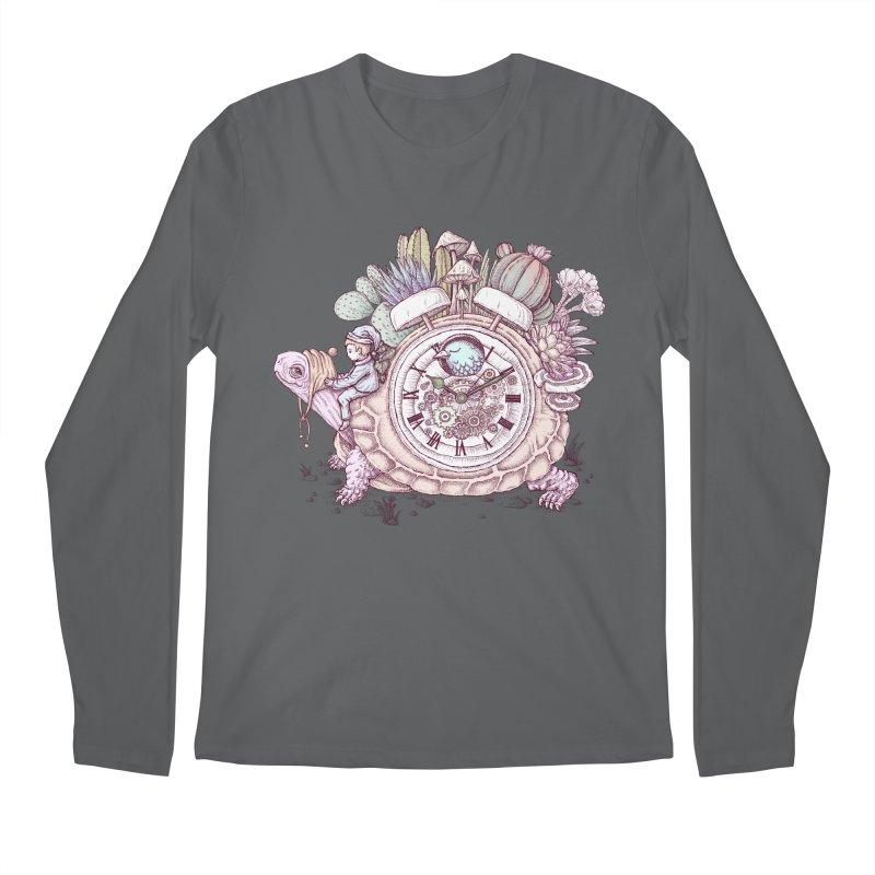 slow alarm clock Men's Longsleeve T-Shirt by makapa's Artist Shop