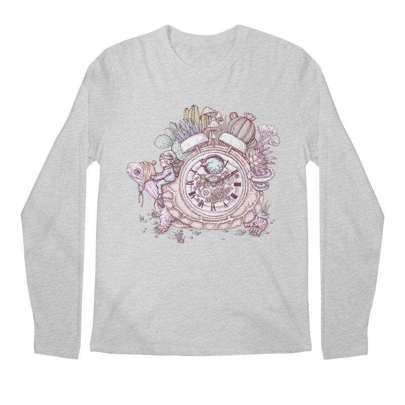 slow alarm clock Men's Regular Longsleeve T-Shirt by makapa's Artist Shop