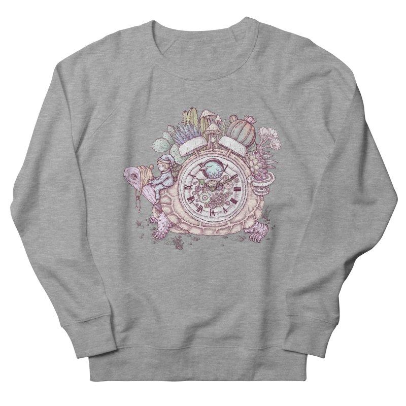 slow alarm clock Men's French Terry Sweatshirt by makapa's Artist Shop