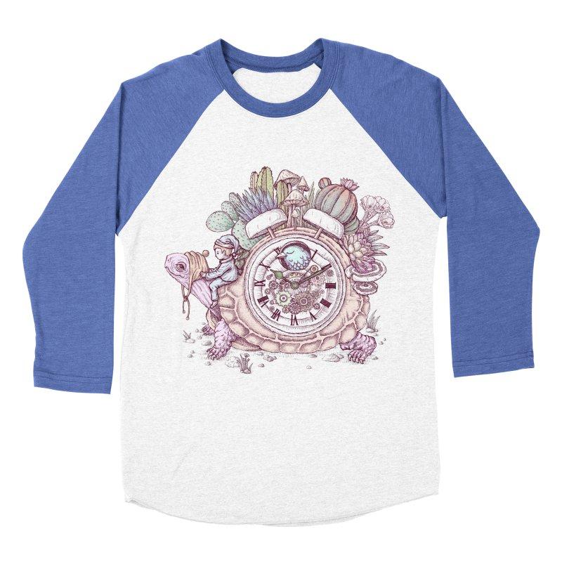 slow alarm clock Women's Baseball Triblend Longsleeve T-Shirt by makapa's Artist Shop