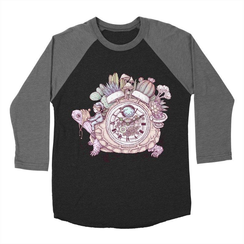 slow alarm clock Men's Baseball Triblend Longsleeve T-Shirt by makapa's Artist Shop