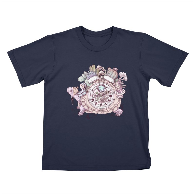slow alarm clock Kids T-Shirt by makapa's Artist Shop