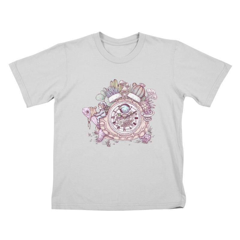 slow alarm clock Kids T-Shirt by makapa's Artist Shop