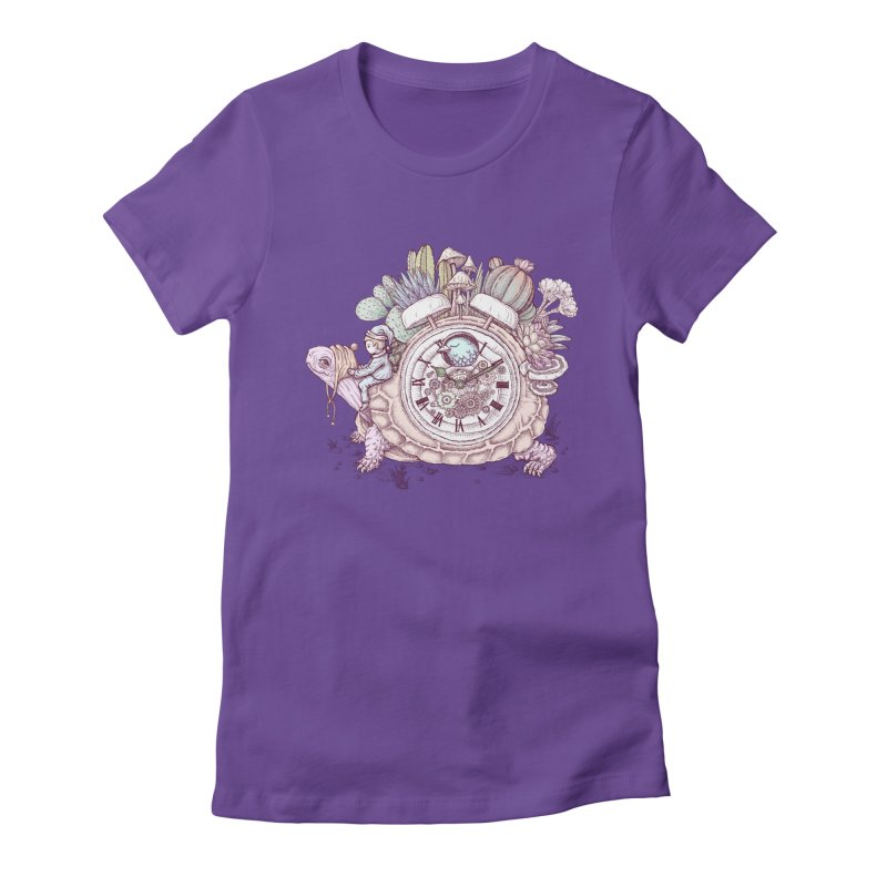 slow alarm clock Women's T-Shirt by makapa's Artist Shop