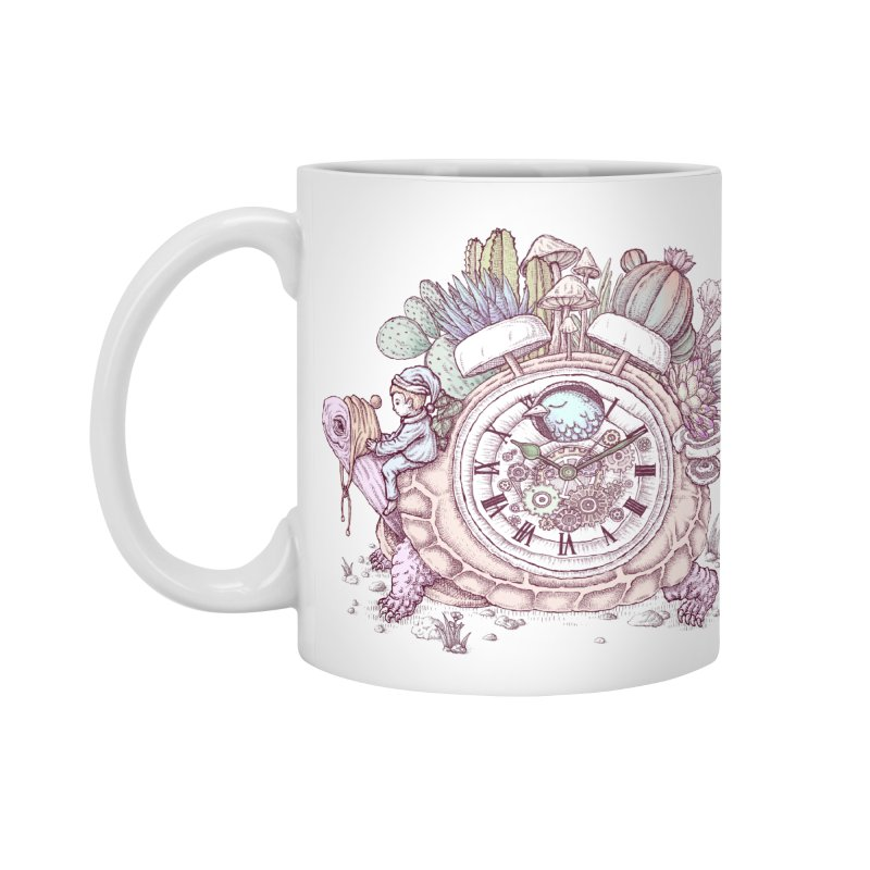 slow alarm clock Accessories Standard Mug by makapa's Artist Shop