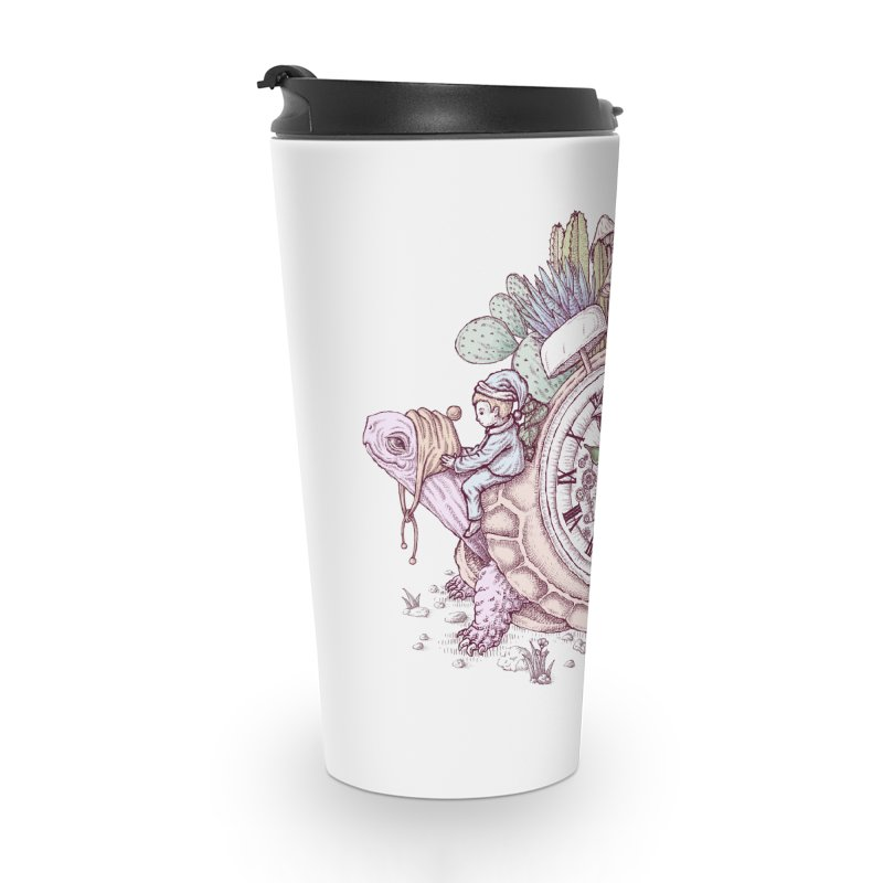 slow alarm clock Accessories Travel Mug by makapa's Artist Shop