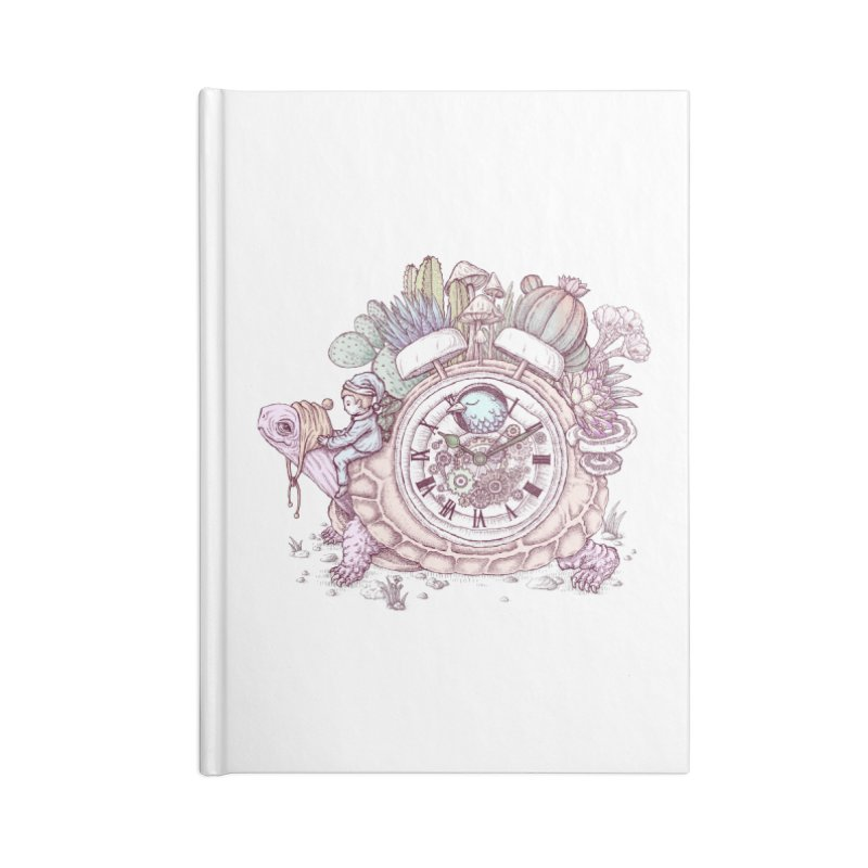 slow alarm clock Accessories Blank Journal Notebook by makapa's Artist Shop