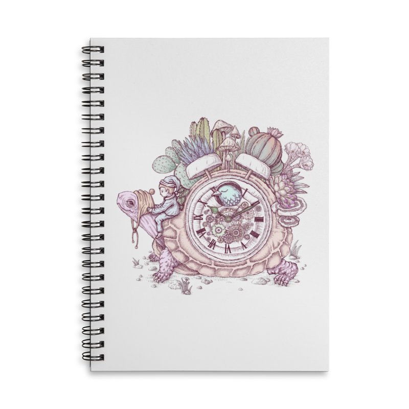 slow alarm clock Accessories Notebook by makapa's Artist Shop