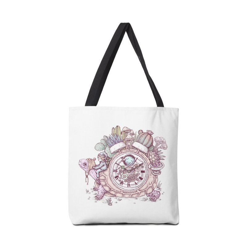 slow alarm clock Accessories Bag by makapa's Artist Shop
