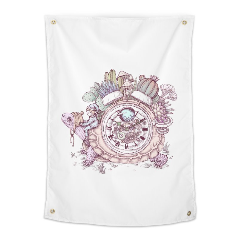 slow alarm clock Home Tapestry by makapa's Artist Shop
