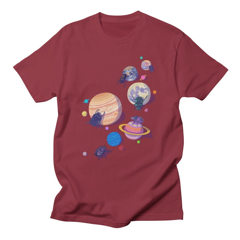 rolling stars Men's T-Shirt by makapa's Artist Shop