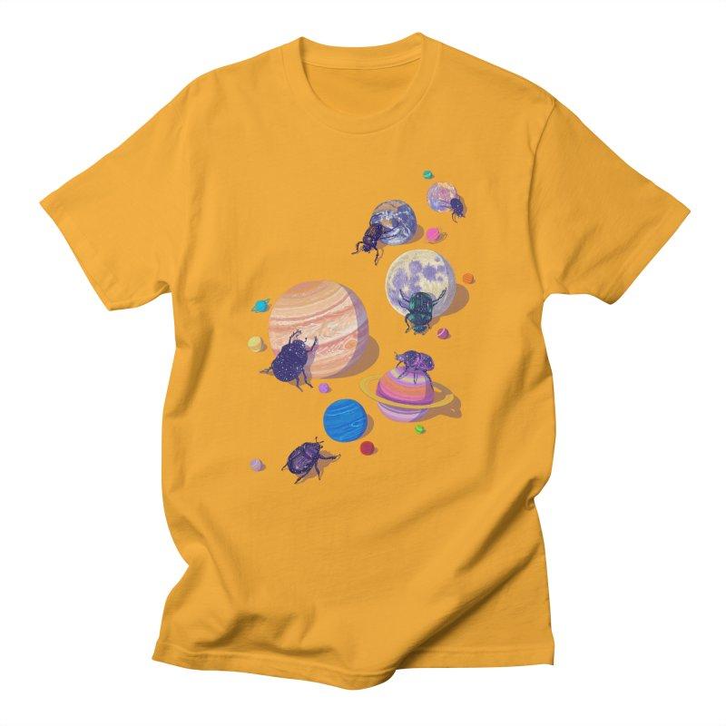 rolling stars Men's T-Shirt by makapa's Artist Shop