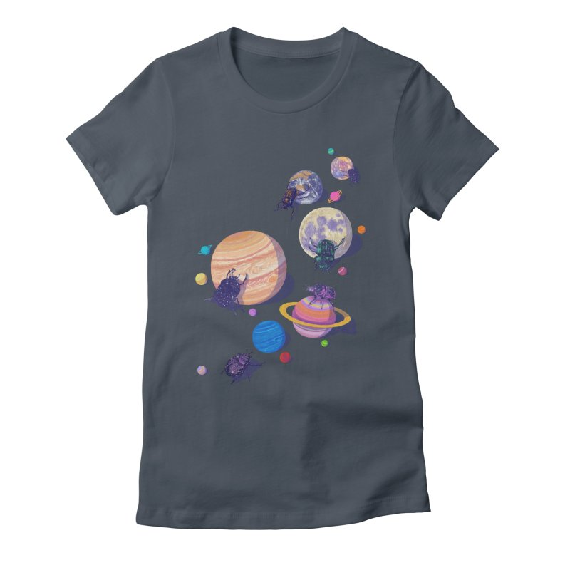 rolling stars Women's T-Shirt by makapa's Artist Shop