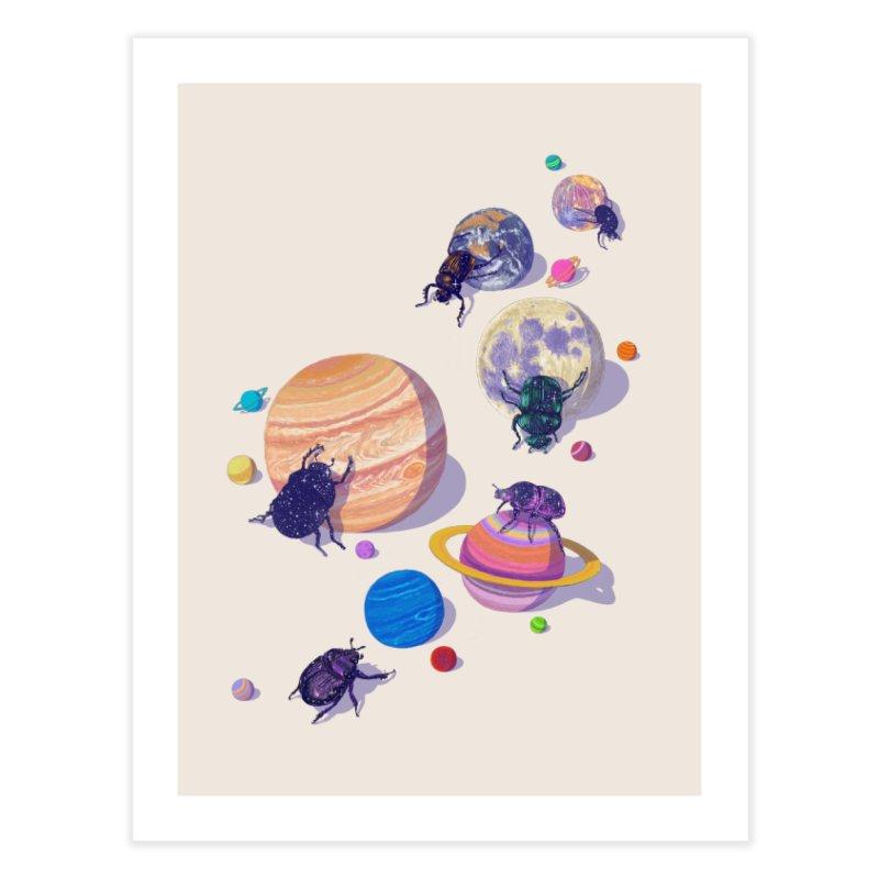 rolling stars Home Fine Art Print by makapa's Artist Shop