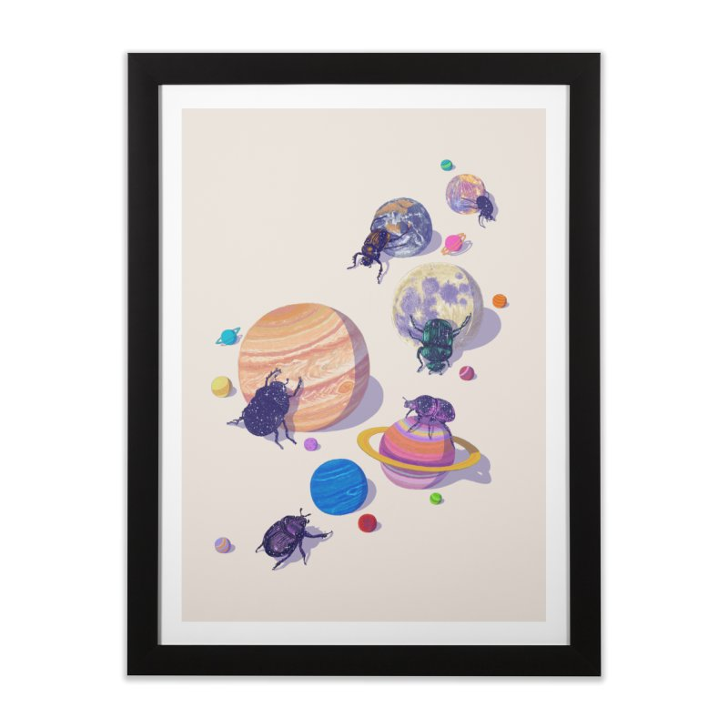 rolling stars Home Framed Fine Art Print by makapa's Artist Shop