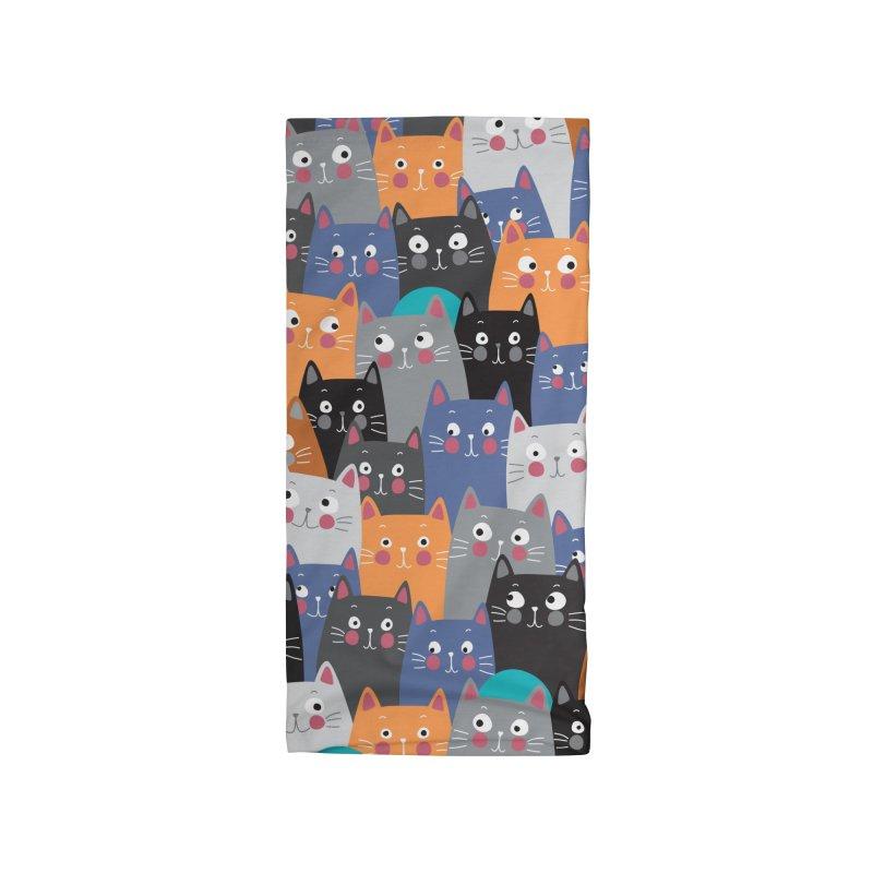 cats,cats,cats.... Accessories Neck Gaiter by makart's Artist Shop