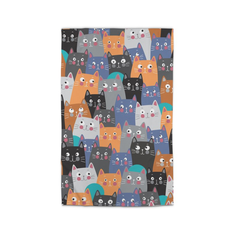 cats,cats,cats.... Home Rug by makart's Artist Shop
